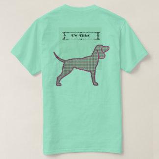 TW TEES Flannel Dog Design