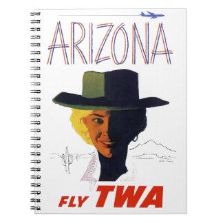 TWA - Arizona Spiral Notebook