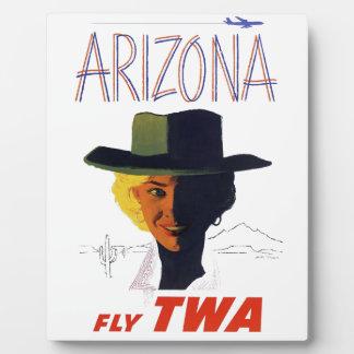 TWA - Arizona Plaque