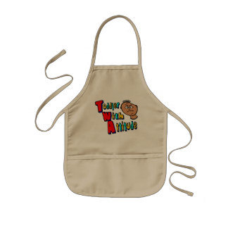 TWA - Toddler With Attitude With Toddler Head Aprons