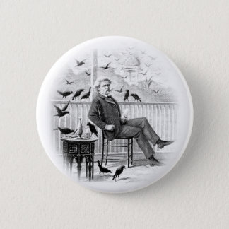 Twain 6 Cm Round Badge