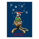 Twas the night before Christmas Greeting Card