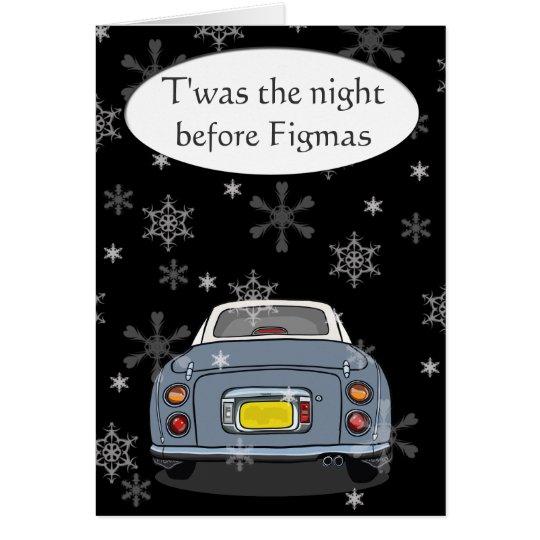"""Twas the night before Figmas"" Christmas Card - Gy"