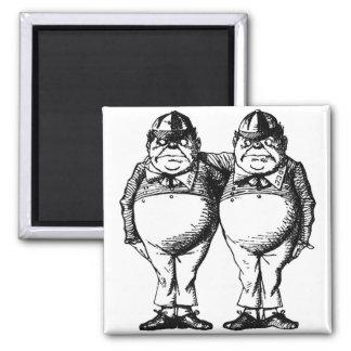 Tweedle Dee and Tweedle Dum Magnet