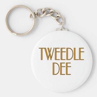 Tweedle Dee Key Ring