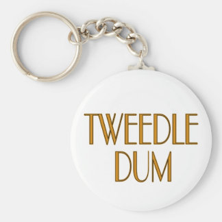 Tweedle Dum Key Chain