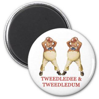 TWEEDLEDEE & TWEEDLEDUM IN WONDERLAND MAGNET