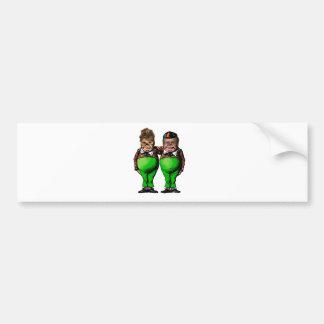 Tweedles Palin & Bush Bumper Stickers