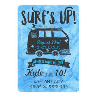 Tween Birthday - Surf Theme Card