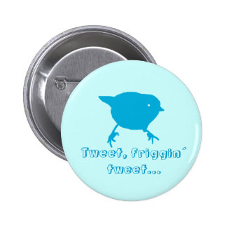 Tweet 6 Cm Round Badge