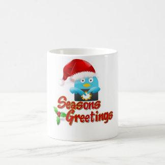 Tweet Eye Seasons Greeting Mugs