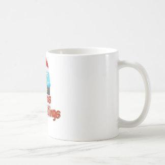 Tweet Eye - Seasons Greetings Basic White Mug