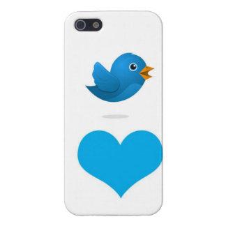 Tweet Heart iPhone 5/5S Covers