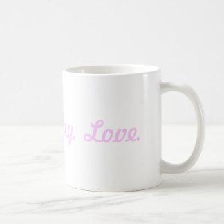 Tweet, Pray, Love Classic White Coffee Mug