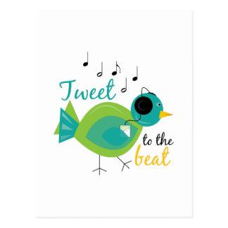 Tweet The Beat Postcard