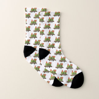Tweet Trio Socks (choose colour) 1
