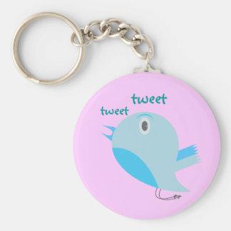 Tweet Tweet Customizable Keychain