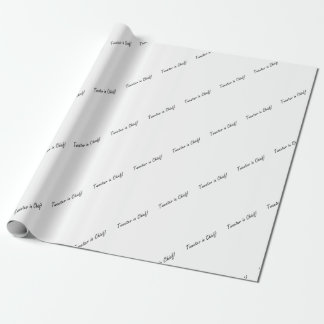 Tweeter in Chief Wrapping Paper