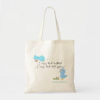 Tweetie and Darlin Budget Tote Bag