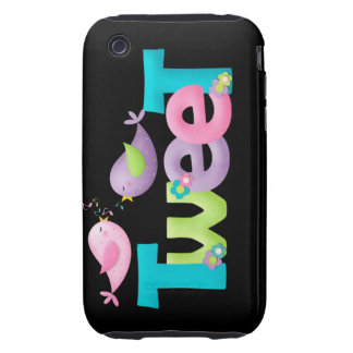 Tweeting Birds CaseMate iPhone 3G/3GS Case iPhone 3 Tough Cover