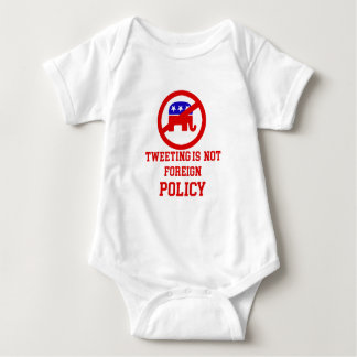 tweeting design baby bodysuit