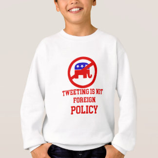 tweeting design sweatshirt