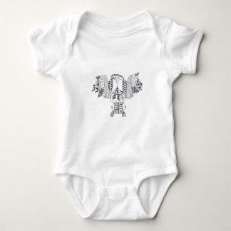Tweeting Tea for 2 Baby Bodysuit