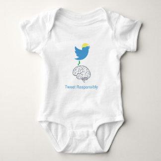 tweetresponsiblyimage baby bodysuit