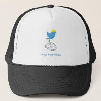 tweetresponsiblyimage trucker hat