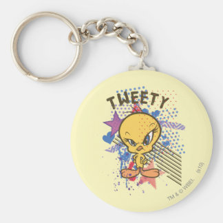 Tweety Angry 2 Key Ring
