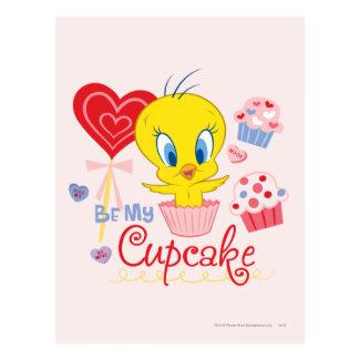 Tweety Be My Cupcake Postcard