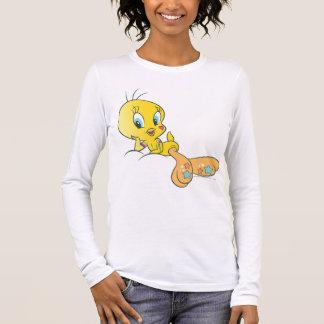 Tweety Dee-lightful Beats Pose 3 Long Sleeve T-Shirt