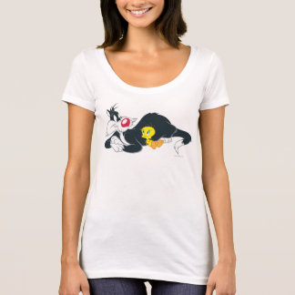 Tweety In Action Pose 14 T-Shirt