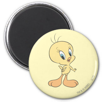 Tweety In The Clouds Pose 21 Magnet