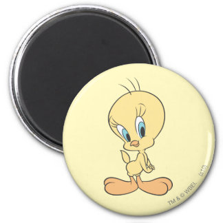 Tweety In The Clouds Pose 22 Magnet