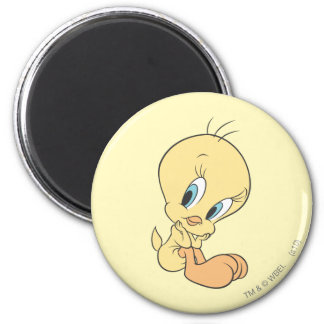 Tweety In The Clouds Pose 9 Magnet