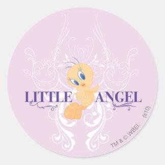"""Tweety """"Little Angel"""" Round Sticker"""