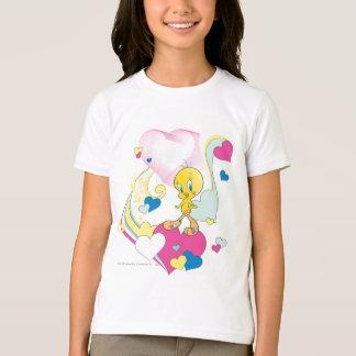 Tweety On Heart T-Shirt