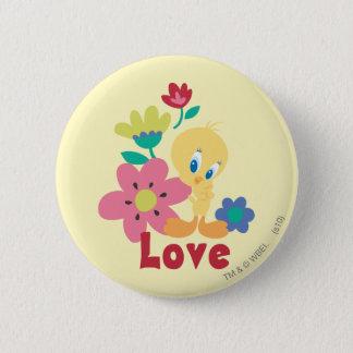 Tweety Red Love 6 Cm Round Badge