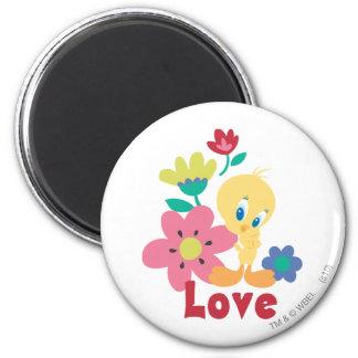 Tweety Red Love Magnet