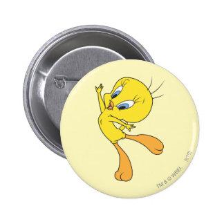 Tweety See Me Fly 6 Cm Round Badge
