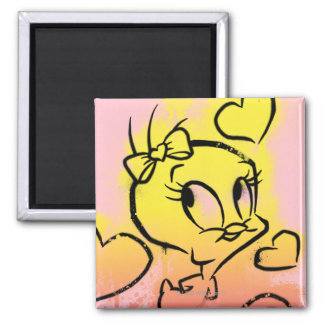 TWEETY™ With Hearts Magnet