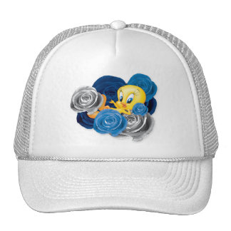 Tweety With Roses Hat