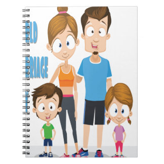 Twelfth February - World Marriage Day Spiral Notebook