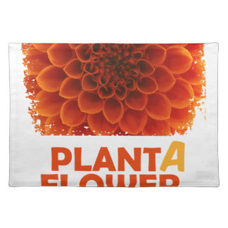 Twelfth March - Plant a Flower Day Placemats