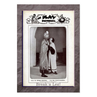 Twelfth Night Gift Tag Business Cards