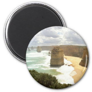 Twelve Apostles Great Ocean Road 6 Cm Round Magnet