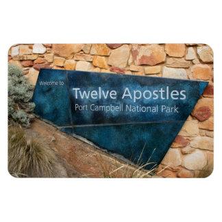 Twelve Apostles, Great Ocean Road, Australia Rectangular Photo Magnet