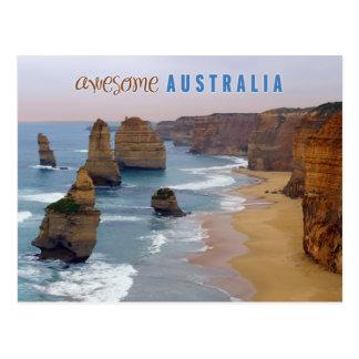twelve apostles postcard