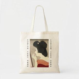 Twelve Aspects of Women Lipstick Torii Kotondo Canvas Bags